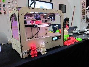 The Makerbot 3D Printer at Comicon 2012