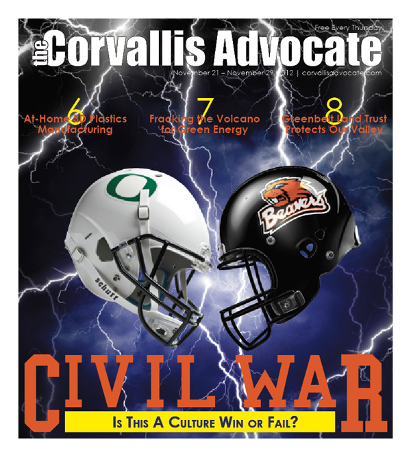 The Corvallis Advocate: November 21st, 2012
