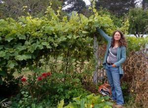 Carrie Sendak of Mama Tee's Farmstead and CSA in Willamina