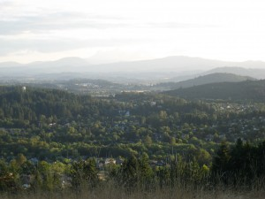 Corvallis from Chip Ross Park; photo by Mica Habarad