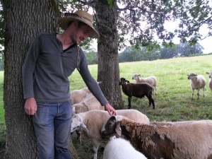 Nathan Moomaw of Moomaw Family Farm in Molalla
