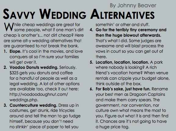 savvyweddingalternatives