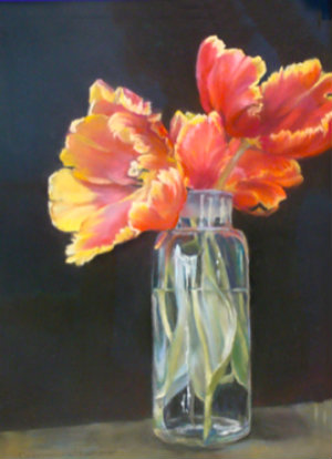"2013 Best in Show, ""Parrot Tulips"" by Germaine Hammon"