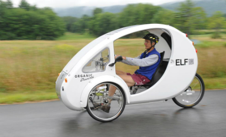 Organic Transit ELF tricycle