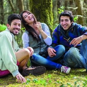 tres amigos alegra