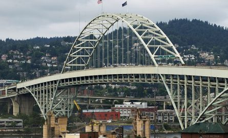 Portland Builds Another Bridge Suicide Barrier