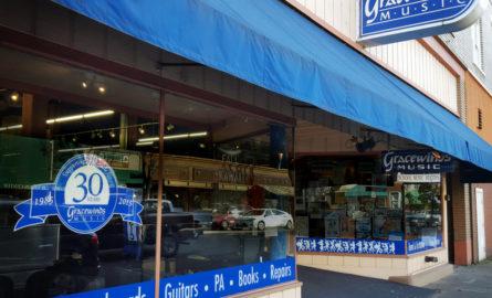 Landmark Music Store Gracewinds to Close