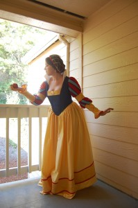Historical version of Snow White designed by Claire Hummel