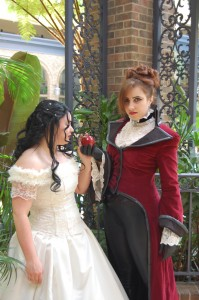 Laura Kane and Lo Abdou as The Evil Queen and Snow White from Once Upon a Time