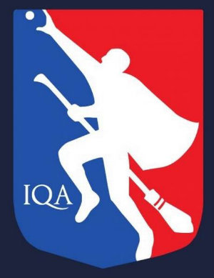Logo for INternational Quidditch Association