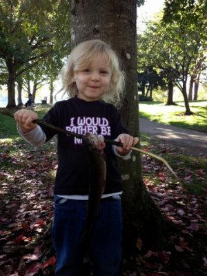 Bonner Kid Fishing