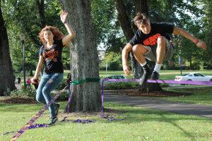 Sage Noelle and Zarin Lucero. Photo by Aaron Michael Davis