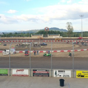 Willamette Speedway_kart races action_Tumbleson