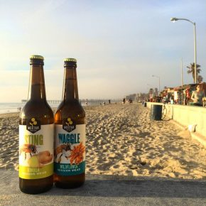 Nectar Creek-beach bottles