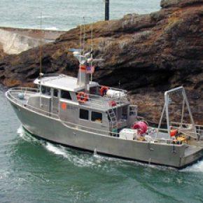 OSU research vessel