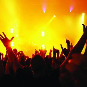 rock audience